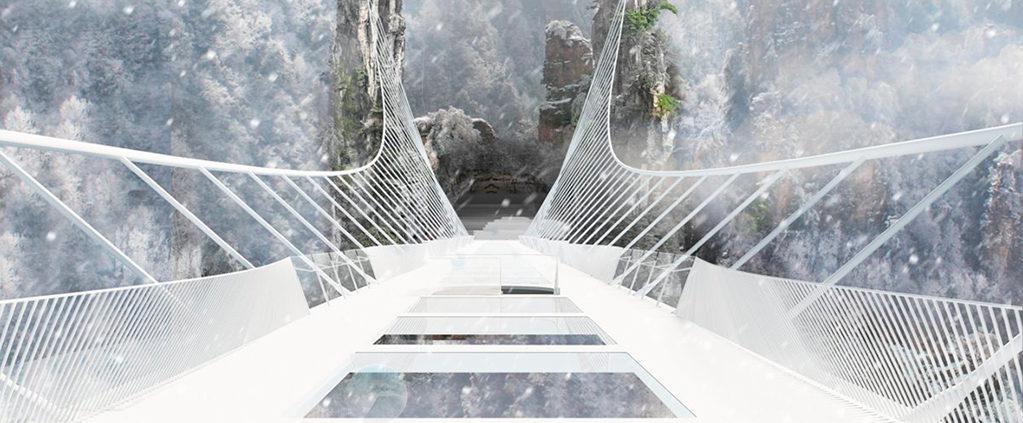 China abre el puente de cristal más alto y largo del mundo CCI S.A (2)